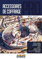 Catalogue Catalogue accessoires de coffrage