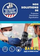 Catalogue Catalogue Travaillons en toute sécurité